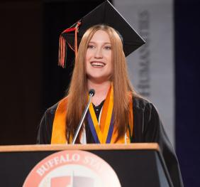 President's Medal for Outstanding Undergraduate Student Recipient and Student Address