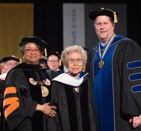 SUNY Honorary Doctor Sophia Veffer