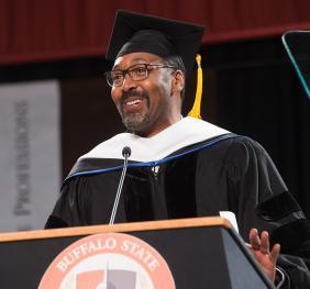 SUNY Honorary Doctorate Jesse Martin